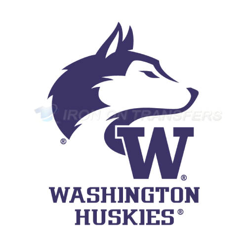 Washington Huskies Logo T-shirts Iron On Transfers N6887